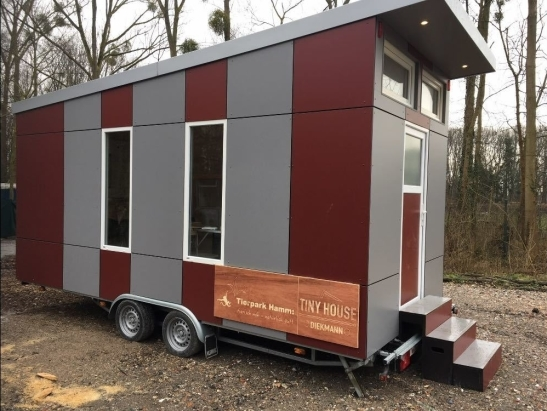 das rote Tiny House